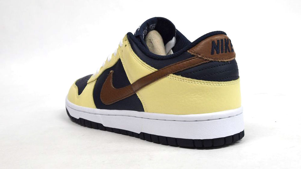 2191ea3222a4 Nike Dunk Low - Yellow Navy-Brown