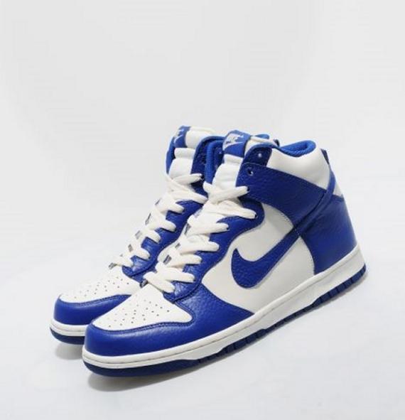 outlet store 0ca89 0632b NIKE SB DUNK HIGH TRD QS MULDER WHITE ORION BLUE 881758 141 MENS  SKATEBOARDING