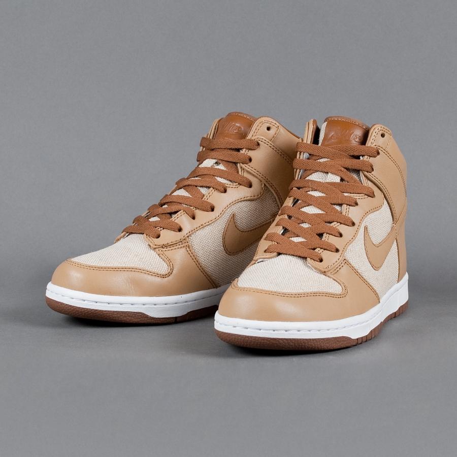 hot sale online 21880 3c343 Nike Dunk High Premium SP Color  Natural Underbrush-Acorn Style  624512-101