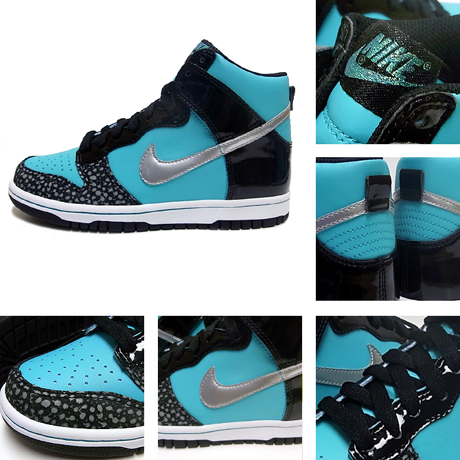 f18ba16bef Nike Dunk High Retro/Black-Metallic Silver (Tiffany Hi?) - Air 23 ...