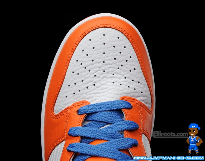 "huge discount f3ec5 91ec4 NIKE DUNK HIGH ""SYRACUSE"" College Orange Obsidian 630335-481 Mens Size 9  shoes"