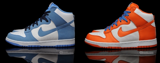 new product 3f279 4a09e A similar color pattern has been used on the Syracuse Dunks, except orange  has been used instead of white, and youll find blue laces.