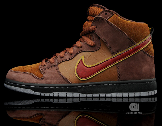 low priced df1a6 c587b Nike SB Dunk High Cigar 313171 262 9