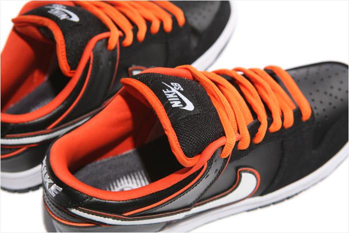 finest selection c1005 789e9 Nike Dunk Low Pro SB - Black/White-Orange Blaze - Air 23 ...