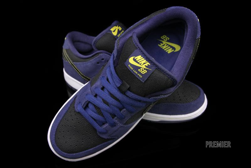 premium selection d3e0b ce8d6 Nike SB Dunk Low Fast Times Black Navy White Sz 9 745954-014