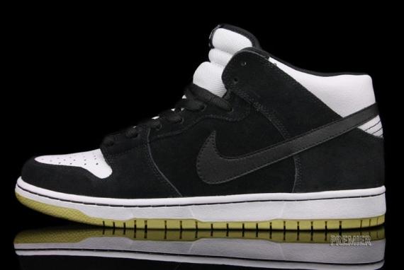 big sale 2639c a601f Nike Dunk Mid Pro SB Color  Black White–Gum Style  314383-013. Price   87.00