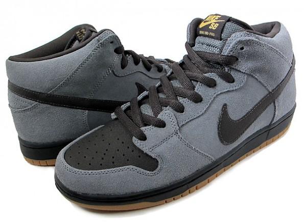 dc8a8bf356488e Nike Dunk Mid Pro SB Color  Charcoal Black Style  314383-007. Nike SB Dunk  Mid Pro QS White Widow Todd Bratrud AQ2207-163 ...