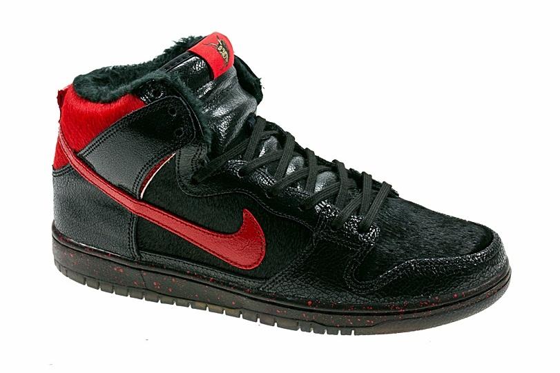 newest collection bb51d ef4bf Nike Dunk SB Hi Krampus DS – 10.5