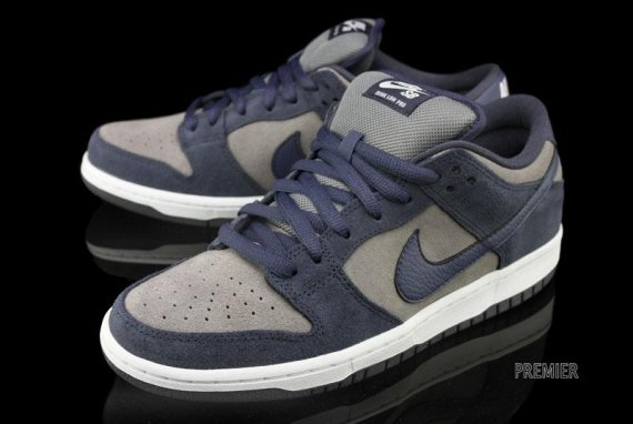 5531ef880572 Nike Dunk Low Pro SB Color  Thunder Blue Cool Grey-White Style  304292-409.  Price   85.00