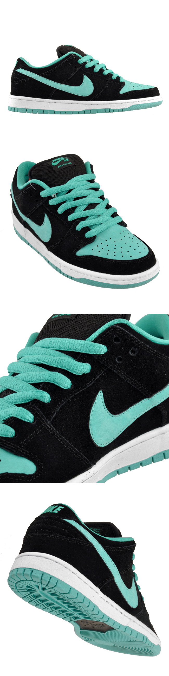 """innovative design f5c30 ab27d Nike Dunk Low Pro SB """"Tiffany J-Pack"""" Available Now"""
