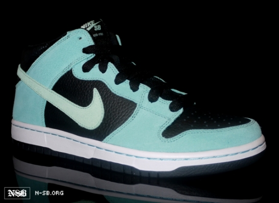 589b254e013 Nike Dunk High SB Tiffany Nike x Diamond Supply Co Size 11.5 Brand New