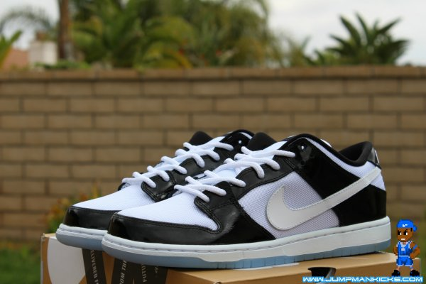 huge selection of fc29d 7d27a Nike Dunk Low Pro SB Color: Black/White-Ice Blue-Concord Style: 304292-043.  Release: 04/20/2013