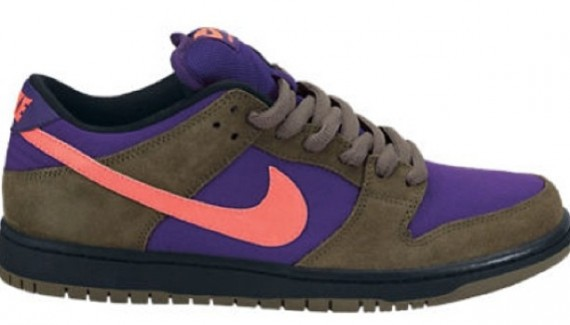 release date: 62401 8034d Nike Dunk Low Pro SB - Brown/Purple-Pink