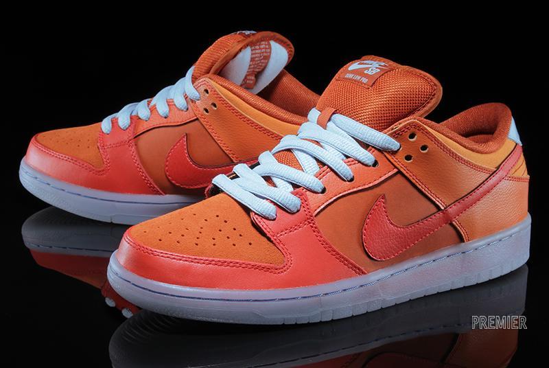 a14d3bf3a904 Nike Dunk Low Pro SB Color  Gamma Orange Urban Orange-Challenge Red Style   304292-868