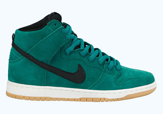 hot sale online 4c0d2 ebe9e Nike Dunk High Pro SB- Mystic Green / Sail - Air 23 - Air ...