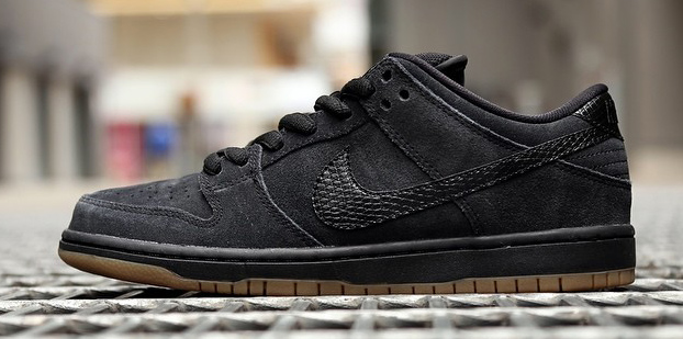 dbbfb64304744 Nike Dunk Low Pro SB Color  Black Gum Medium Brown-White-Black Style   304292-045. Release  08    2014. Price   85.00