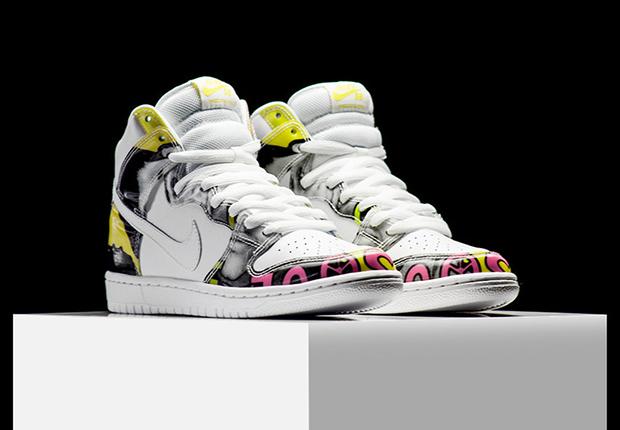 save off 0d09d 63b68 Nike SB Dunk High De La Soul 2005 Mens Sz 9 305050-231 Used