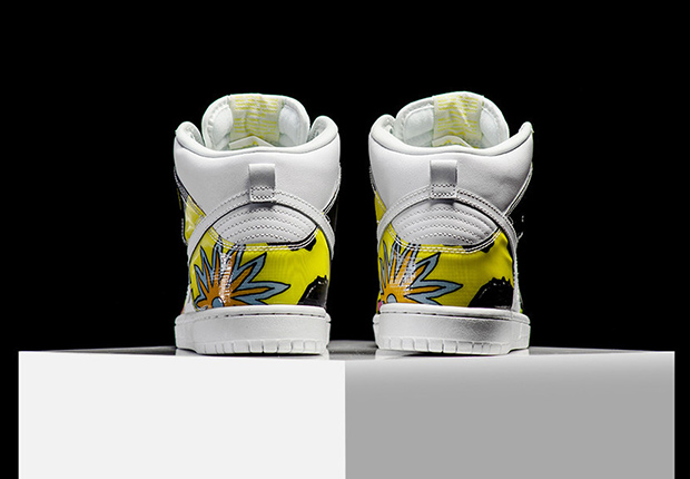 Foamposite Fireflies Nike Dunk High Pro SB ...