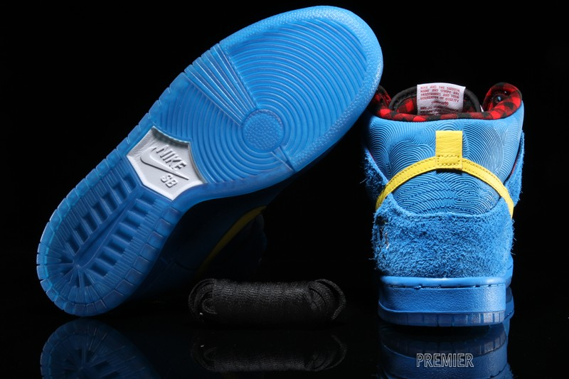 df0e2e9dea89 ... italy nike dunk high premium sb color photo blue tour yellow white  style 313171 471.