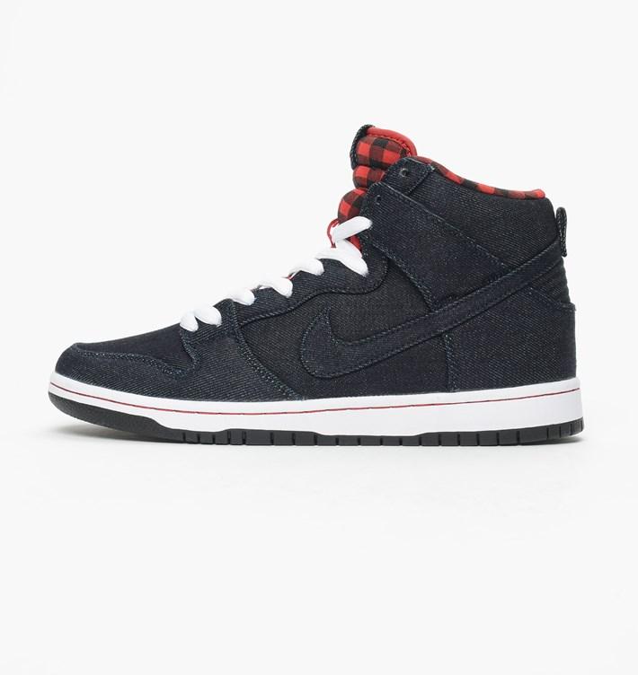 promo code aecee 78788 Nike Dunk High Premium SB Color  Dark Obsidian Dark Obsidian-White Style   313171-441. Nike SB Dunk High TRD QS Reese Forbes Midnight Navy Denim – 881758  441