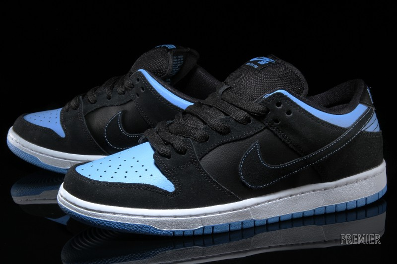 wholesale dealer 693eb 2c76f Nike Dunk Low Pro SB – Black  University Blue-White
