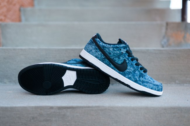 nike dunk low premium sb midnight navy