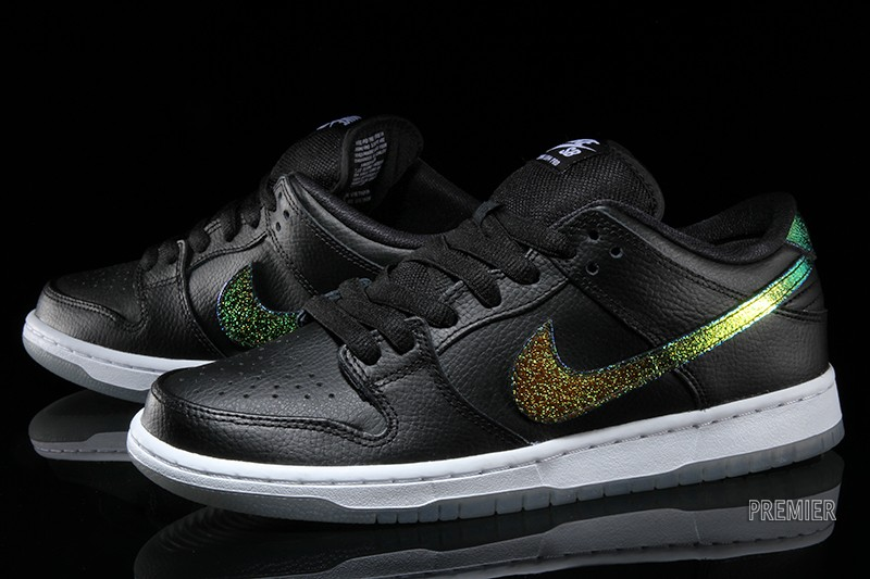 Nike Dunk Low Pro SB Color  Black White-Multi-Color Style  304292-091.  Price   90.00 784fd40708