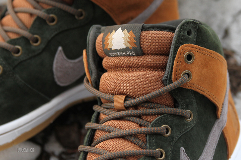 Nike Sb Dunk High Premium Hg-q Ver Ehq7T