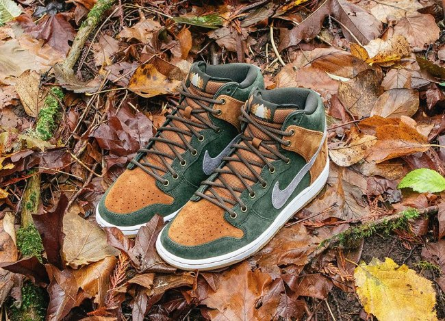 nike dunk high premium sb homegrown