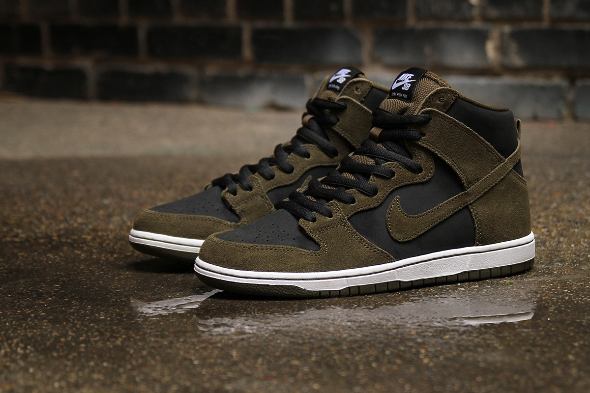 Nike SB Dunk High Pro Dark Loden - Air 23 - Air Jordan Release Dates ... 033a401bf