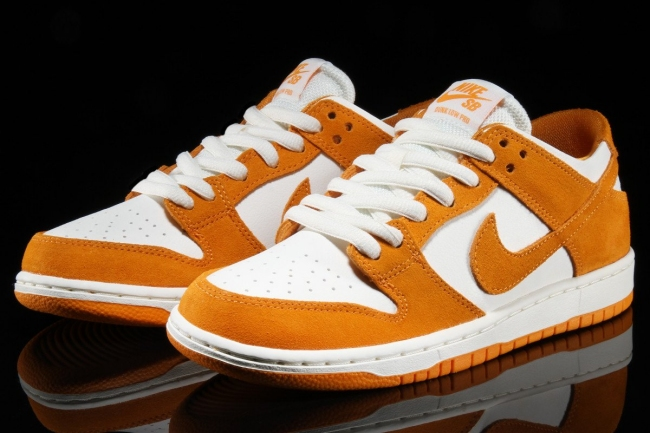 nike sb dunk low circuit orange