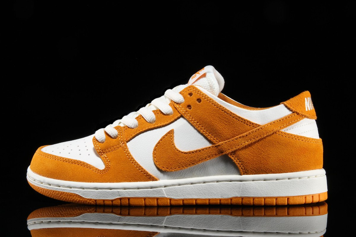sale retailer 2bc41 22a0a Nike SB Zoom Dunk Low Pro Color: Circuit Orange/Sail-Circuit Orange Style:  854866-881. Price: 90.00