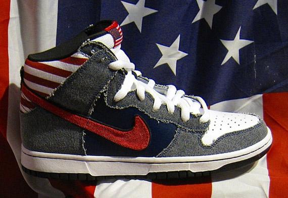 """brand new bc2a9 5baa3 Nike Dunk SB High """"Born in the USA"""""""