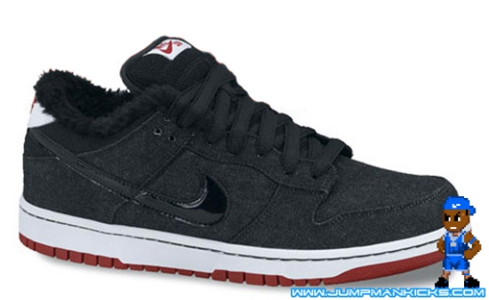 los angeles 5b5f5 616b5 Way to go Nike, that shows that you can still add something new to an old  idea. Style  313170-007. Color  Black White Red. NIKE DUNK LOW PREMIUM SB  LARRY ...