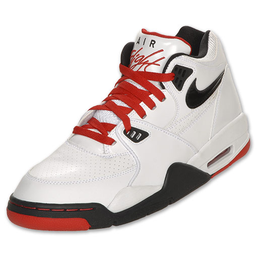 buy popular ab3e1 cec68 Nike Air Flight 89. Color  White Black-Sport Red Style  306252-107. Price    95.00