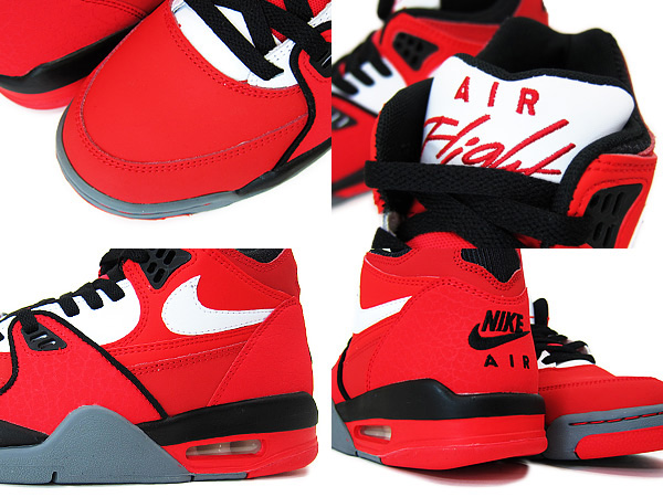 buy popular 52282 3d9c7 MEN S NIKE AIR FLIGHT 89 306252-161 WHITE VARSITY RED WAS  90.00 NEW IN BOX