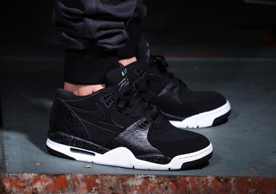promo code e2856 5823a Nike Air Flight 89. Color  Black White-Cool Grey Style  306252-024