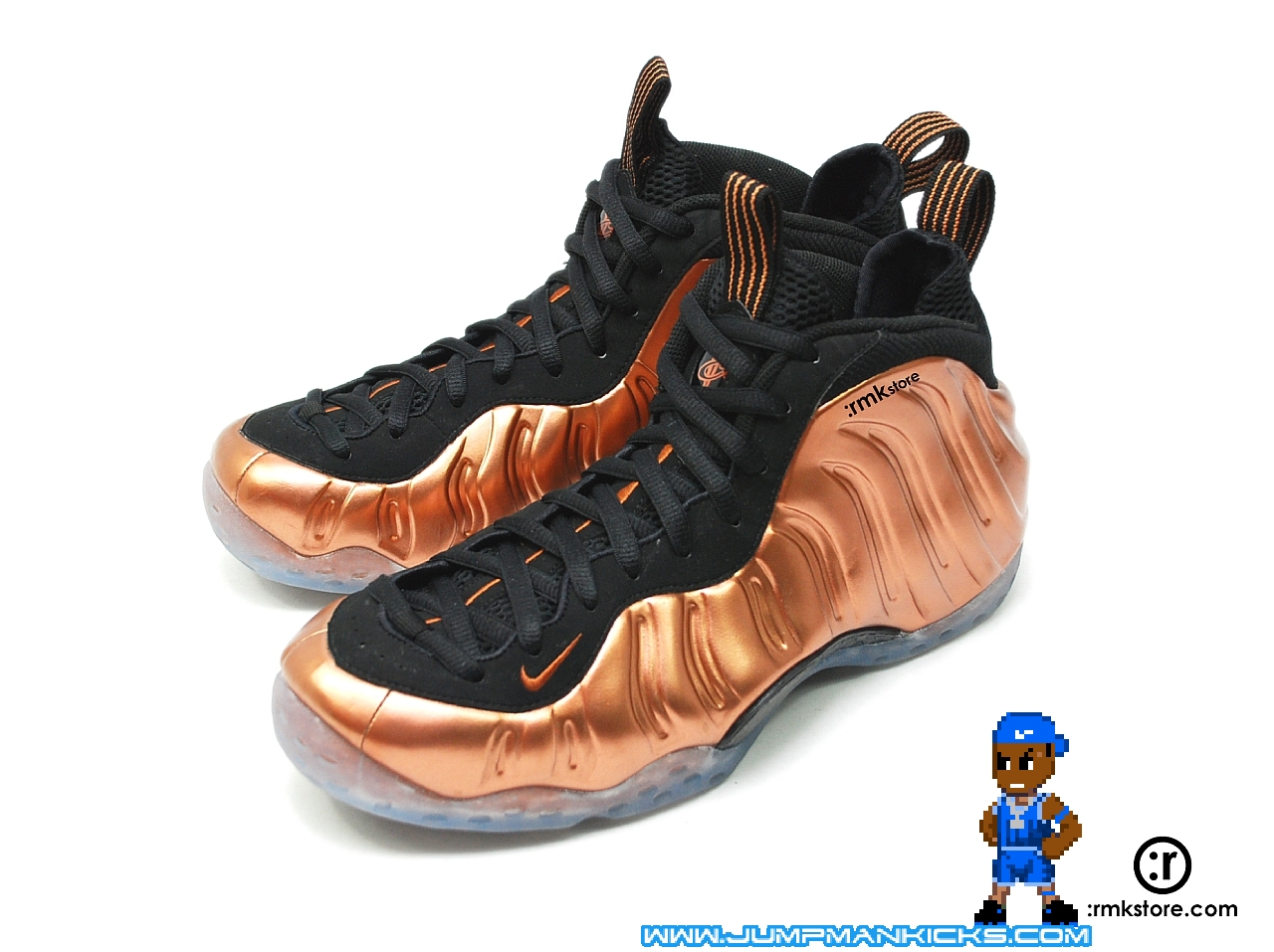 nike copper foamposite