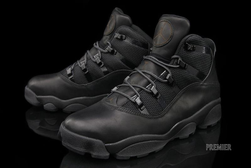 Jordan Six Ring Black Boots  060acbece