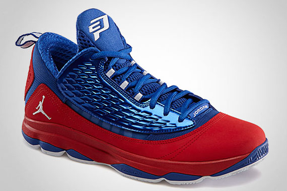 online store 748cd 52954 This design has been accentuated with white graphics and stripes on the  eyelets. The Sport Red White-Game Royal Jordan CP3.VI AE will release on  April 17, ...