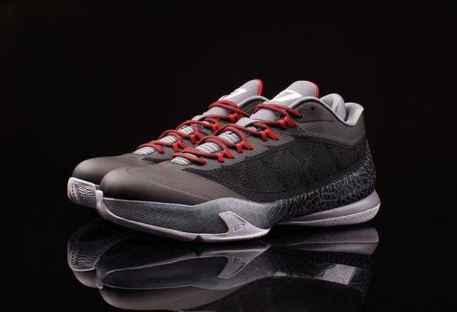dfe0ff9c267c Jordan CP3.VIII Color  Black Cool Grey-Gym Red-White Style  684855-001.  Price   130.00