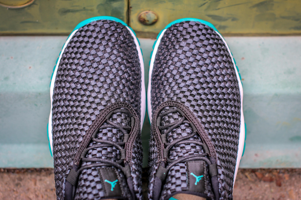 2015 Mens Nike Air Jordan Future Low XI 11 Photo Blue Black Size 8.5 Used  Rare