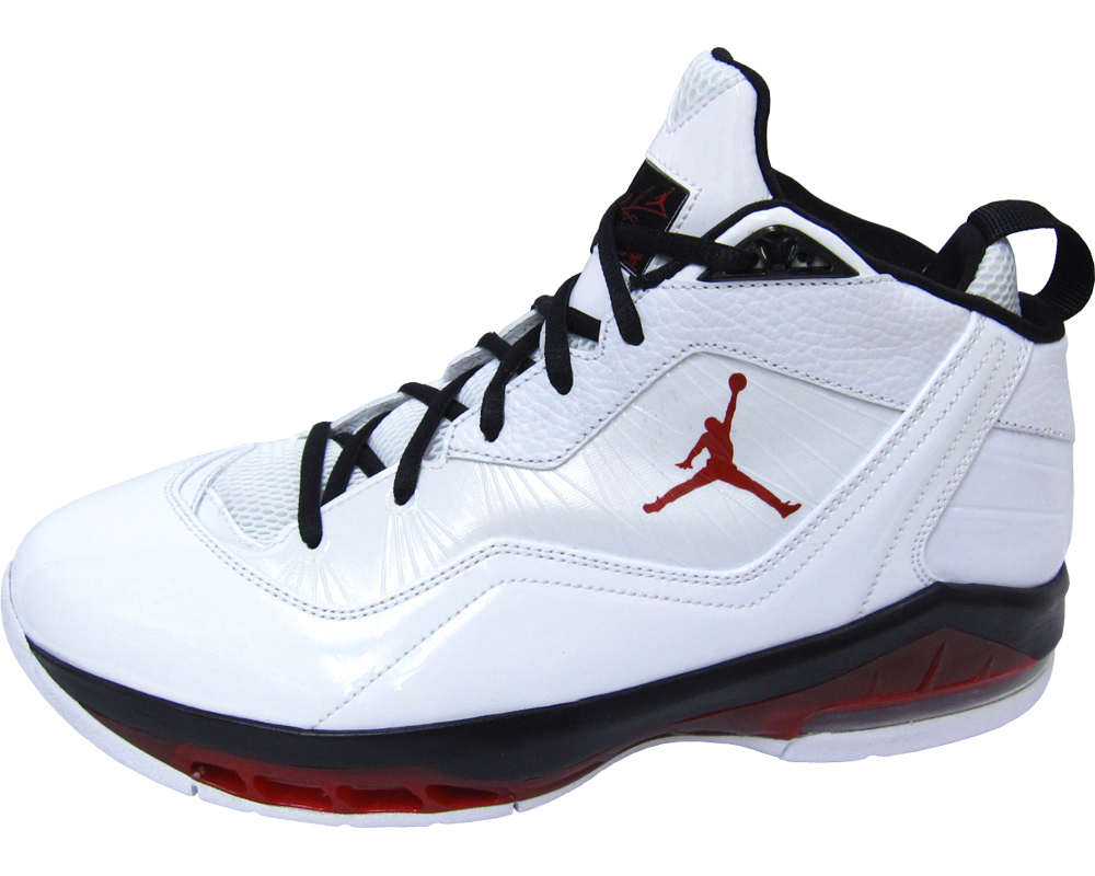 the latest fd08b 1ceb0 Jordan Melo M8 – White Varsity Red-Black