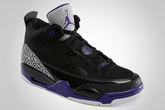 4494b3df3f6 Jordan Son of Mars Low Color: Black/Grape Ice-White Style: 580603-008.  Release: 04/27/2013. Price: $140.00