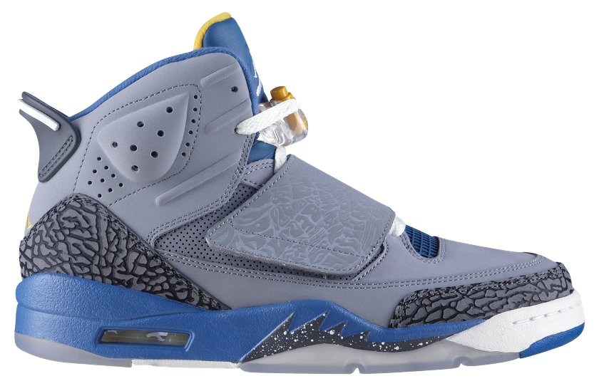 5474fccb2c9 Jordan Son of Mars Stealth/White-Shaded Blue-University Gold – Available Now