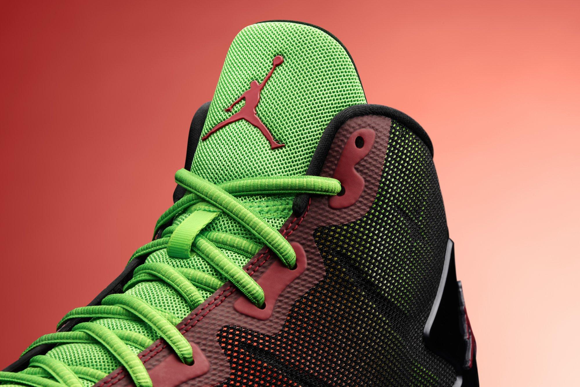 3e5fadf87383 Mens Nike Jordan Super.Fly 4 Shoes Royal White Black Blue Size 17 768929  435 NEW