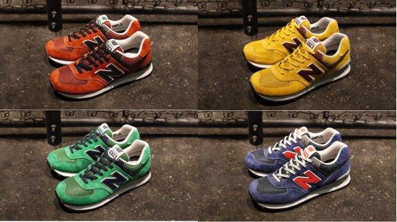 new balance 574 colors