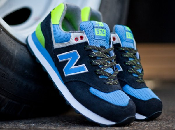 "quality design 077ae 0ce7e New Balance 574 ""Yacht Club"" – Navy"
