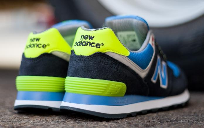 Nuevo Equilibrio 574 Azul Neón Verde yRV8e
