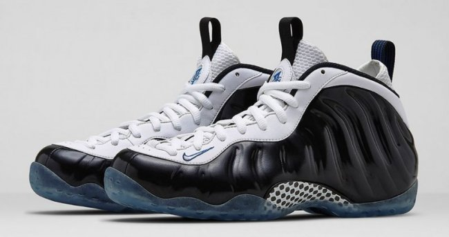 purchase cheap ff0b2 0ccd5 Nike Air Foamposite One Color  Black White-Game Royal Style  314996-005.  Release  06 28 2014. Price   230.00